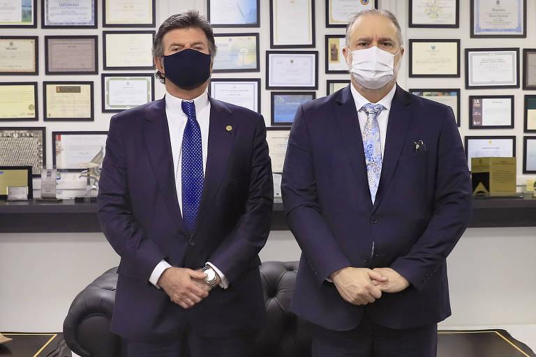 Após reunião de Aras com Fux, PGR fala em 'diálogo permanente', mas evita defesa do Supremo em embate com Bolsonaro