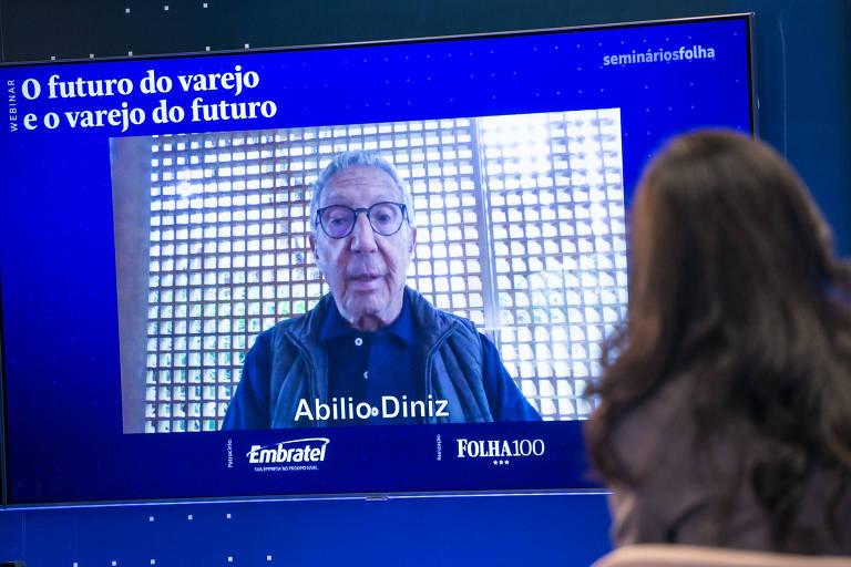 Futuro do varejo passa pela loja física, defende Abilio Diniz