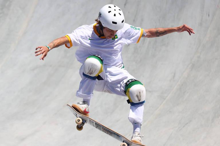 Look rebelde que hoje brilha no skate em Tóquio começou a ser moldado há 50 anos