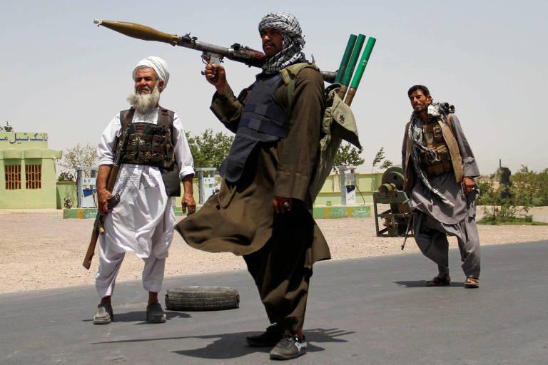 Taleban conquista 2ª e 3ª maiores cidades do Afeganistão, e EUA temem queda de Cabul em 30 dias