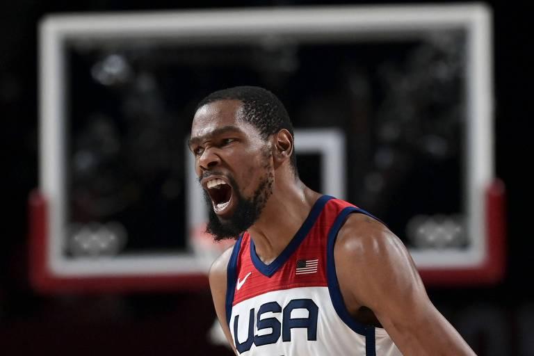 EUA espantam fantasma nas Olimpíadas, batem França e levam ouro no basquete