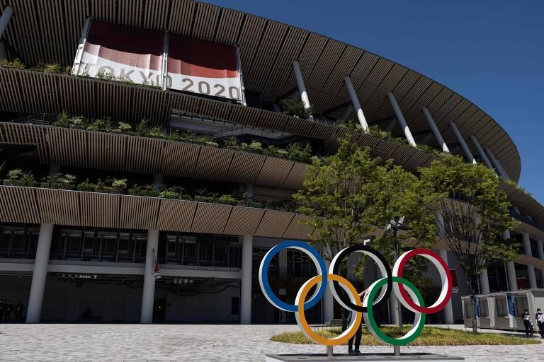Estádio Olímpico de Tóquio receberá a cerimônia de encerramento dos Jogos