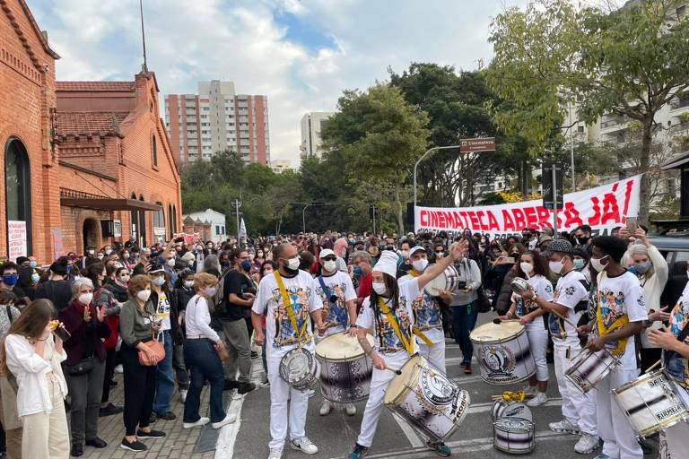 Veja as manifestações na Cinemateca Brasileira