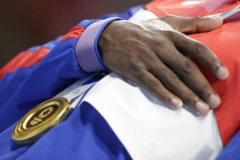 Confira as imagens do ultímo dia de Olimpíadas