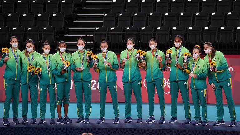 Brasil fica com a medalha de prata prata em Tóquio