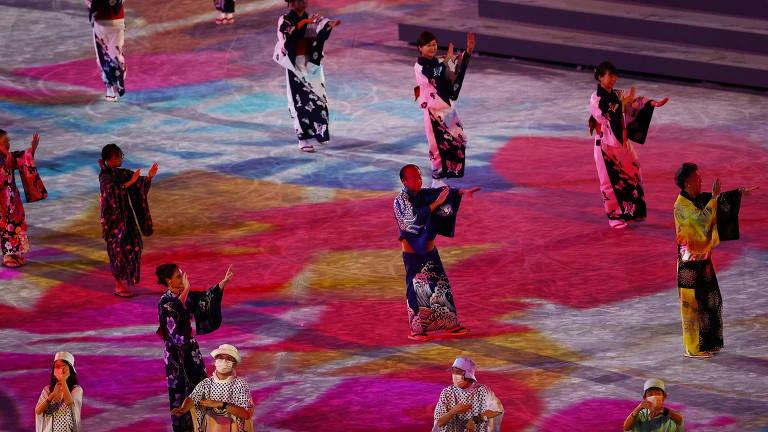 Cerimônia de encerramento das Olimpíadas de Tóquio