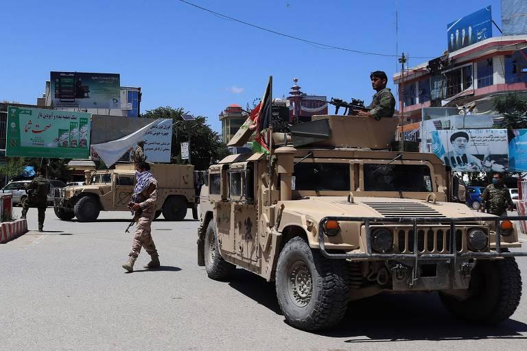 Em nova ofensiva, Taleban captura 6ª capital do Afeganistão em 4 dias