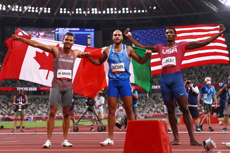 Atletismo das Olimpíadas vê queda de desempenho de EUA e Jamaica na pista