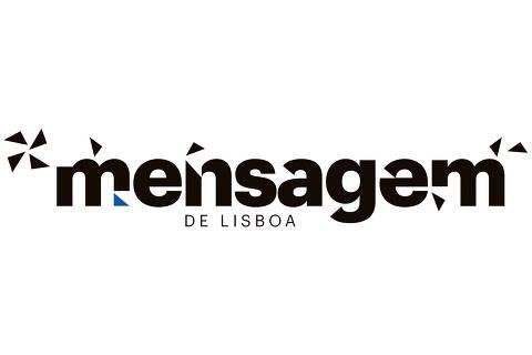 Logo do jornal lusitano  Mensagem de Lisboa . Foto:Divulgação )