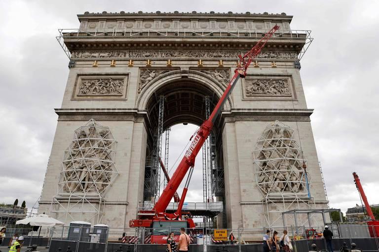 Grande monumento construído