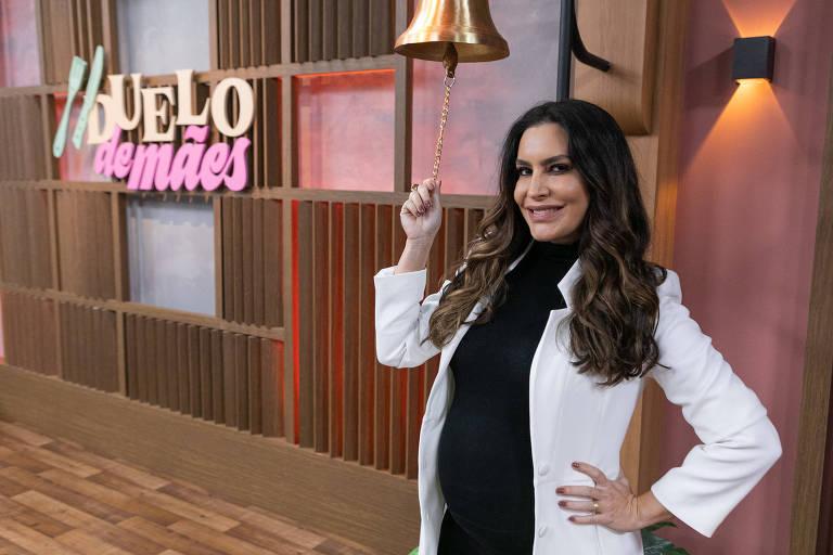 Ticiana Villas Boas diz que gravidez deu sensibilidade a Duelo de Mães