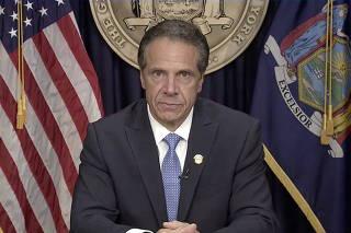 New York Governor Cuomo resigns