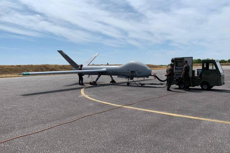 Reforço aéreo não tripulado na preservação da Amazônia