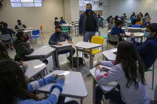 Volta às aulas em São Paulo