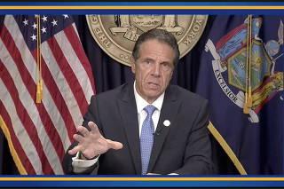 FILE PHOTO: New York Governor Cuomo resigns