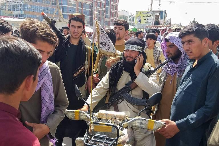 Governo já vê Taleban em 80% do Afeganistão, e solução política fica distante