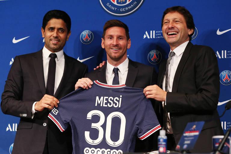 Com Messi e reforços, PSG se torna segundo time mais valioso da Europa
