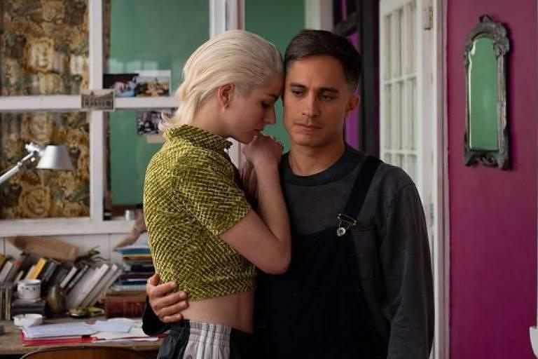 Gael García Bernal em cena no filme 'Ema', de  Pablo Larraín