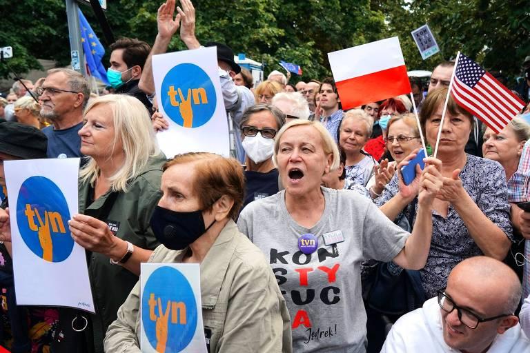 Lei de mídia avança na Polônia e pode levar a confronto com EUA, principal aliado