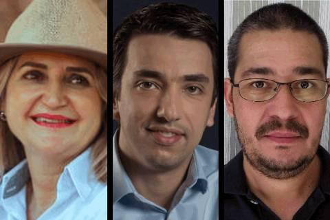 Fábio Passos, Dulce Ciochetta e o agrônomo Cristiano Alberto de Andrade