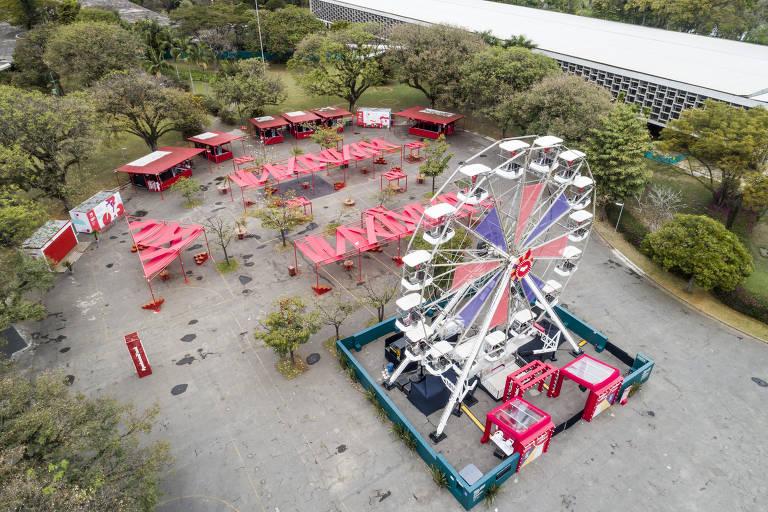 Roda-gigante é nova atração do Parque Ibirapuera