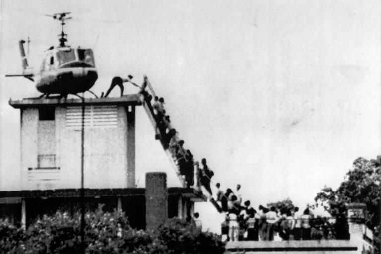 Fantasma de Saigon assombra planos de Biden no Afeganistão