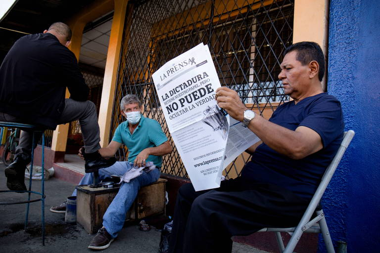 Ditadura força maior jornal da Nicarágua a sair de circulação