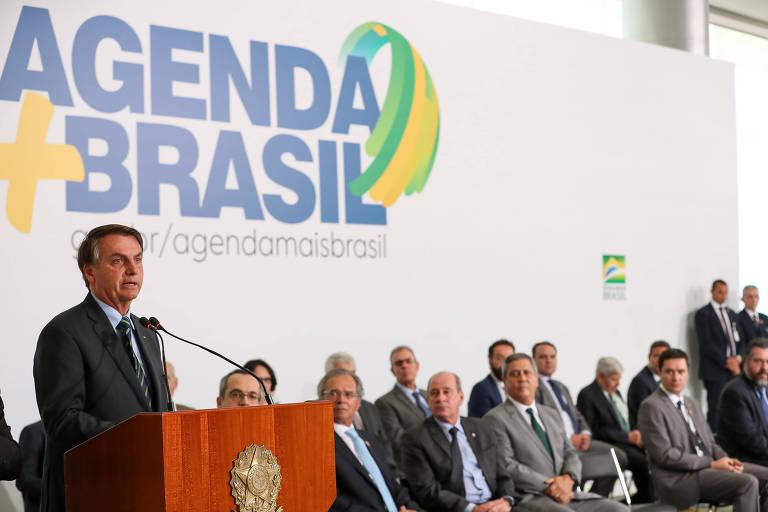 Portal lançado por Bolsonaro para exaltar 'entregas' e agenda positiva do governo fica vazio