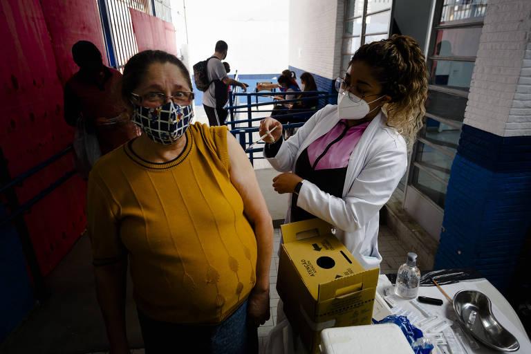 Capital paulista vai abrir inscrição para xepa de segunda dose de vacina contra Covid
