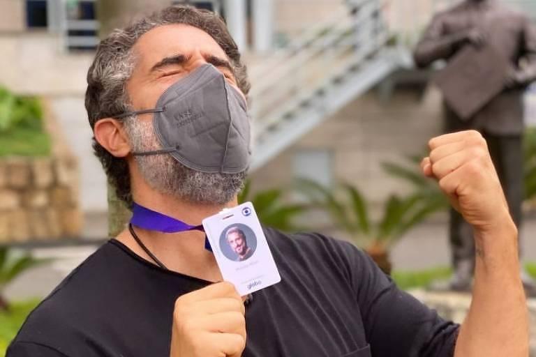 Marcos Mion vai dar crachá da Globo para participantes no novo Caldeirão