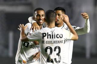 Copa Sudamericana - Quarterfinal - First leg - Santos v Libertad