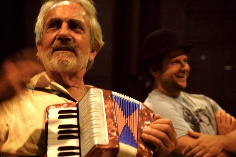 Paulo José e Selton Mello em 'O Palhaço'