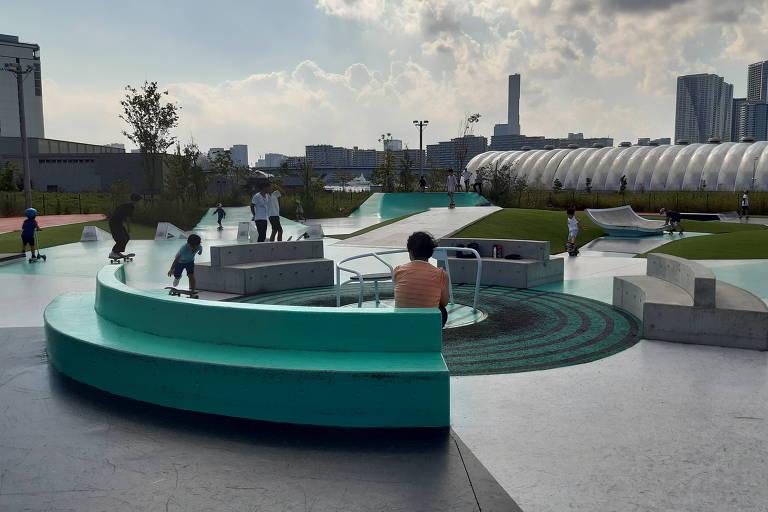 Sucesso do skate nas Olimpíadas desafia resistência a ele nas ruas do Japão