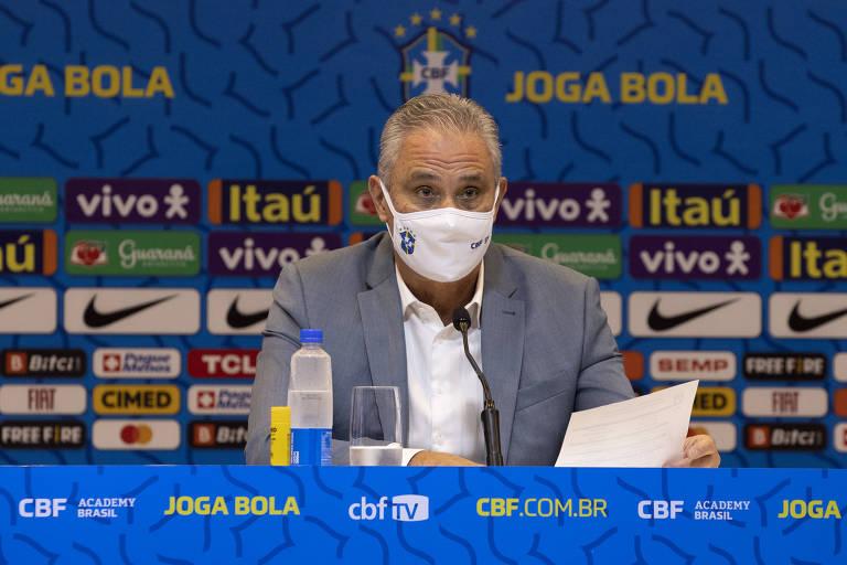 Tite convoca seleção brasileira de futebol para as Eliminatórias; veja a lista