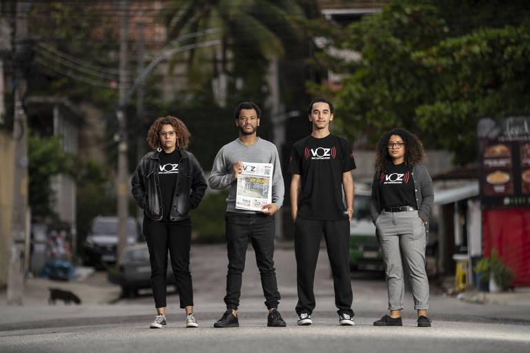 Jornal de favela no Rio completa 16 anos, ajuda moradores e se expande na pandemia
