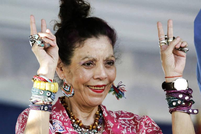 Esotérica e autoritária, Rosario Murillo é o rosto da ditadura na Nicarágua