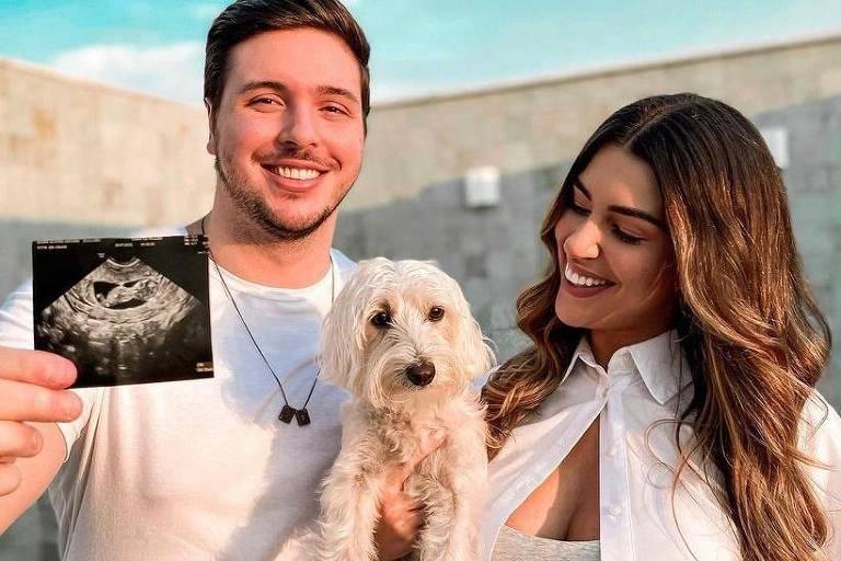 Ex-BBB Vivian Amorim anuncia gravidez do primeiro filho