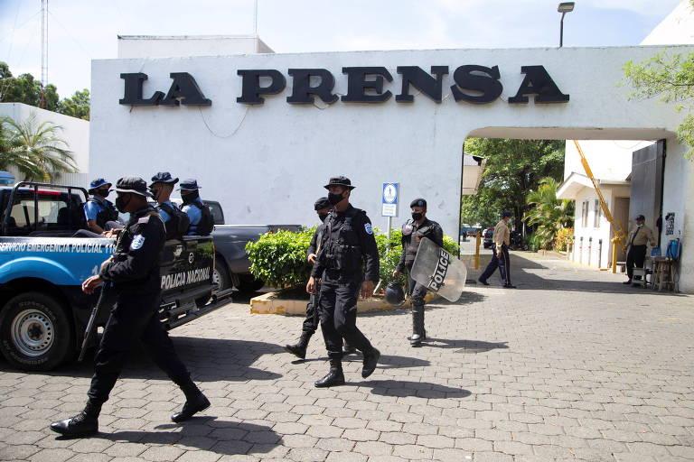 Diretor de jornal crítico ao regime de Ortega é preso na Nicarágua