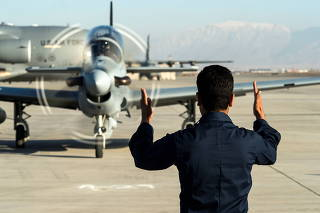 Four Super Tucanos delivered to Afghan air force