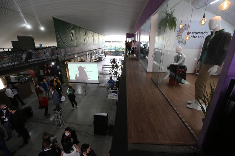 'Costurando Sonhos' inaugura novo espaço em Paraisópolis, em São Paulo