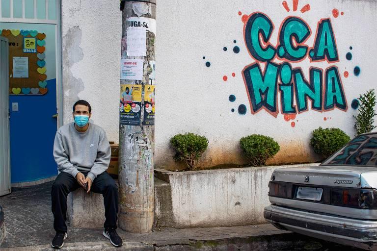 João Vitor, da Unas, em Heliópolis, aponta mudanças nos últimos anos na região