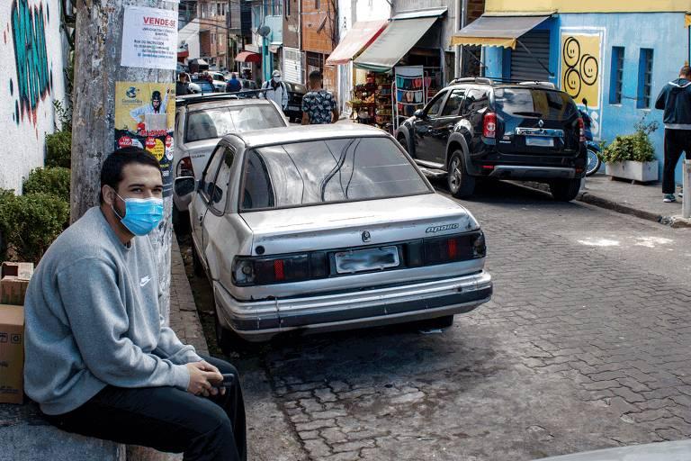 Aumento do número de carros na região de Heliópolis foi uma das mudanças no bairro