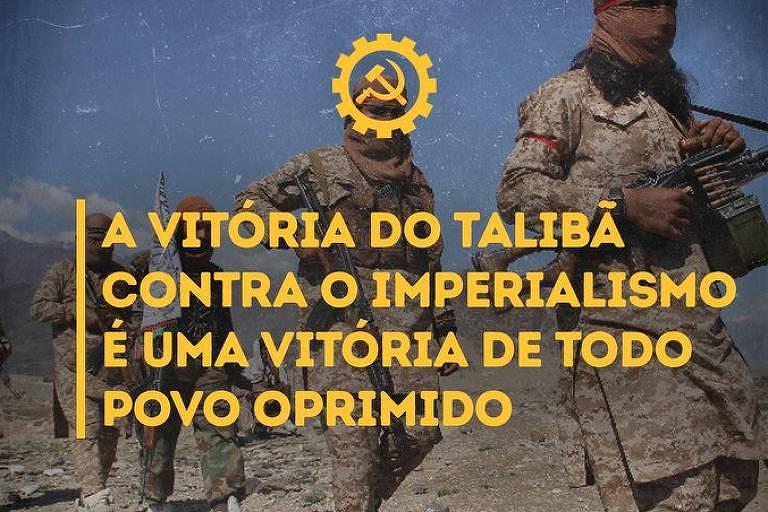 Partido da Causa Operária e jornalista brasileiro comemoram vitória do Taleban no Afeganistão