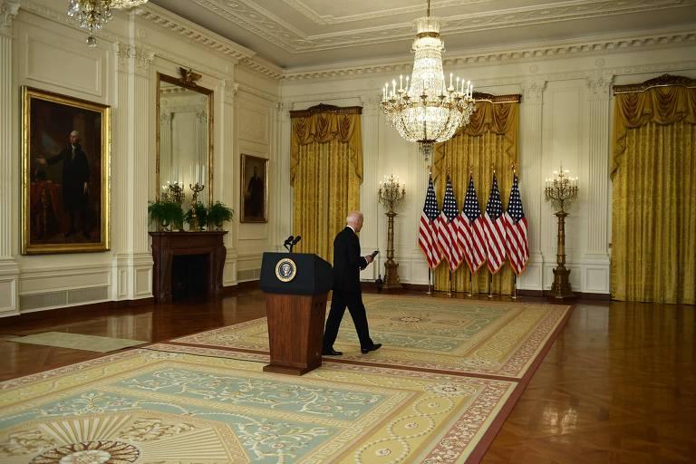 Frieza de Biden sobre vitória taleban lembra que Cabul é pior que Saigon