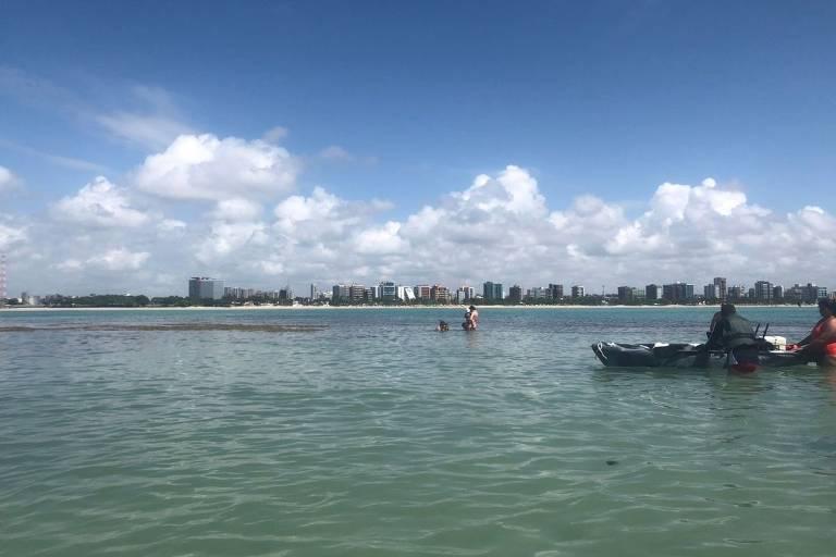 Piscinas naturais de Pajuçara, em Alagoas