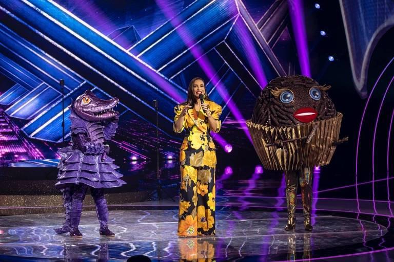 The Masked Singer: Ivete diz que jacaré está vacinado e movimenta a web