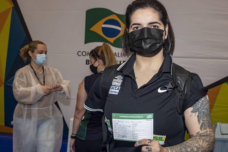 Atleta supera trauma de vacina da infância e vai a Tóquio vacinada contra Covid-19