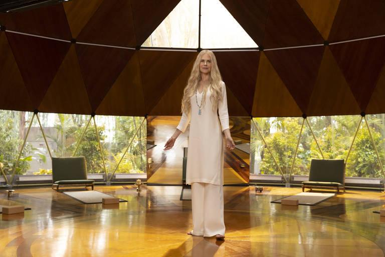 """Nicole Kidman em cena da série """"Nove Desconhecidos"""", do Amazon Prime Video"""