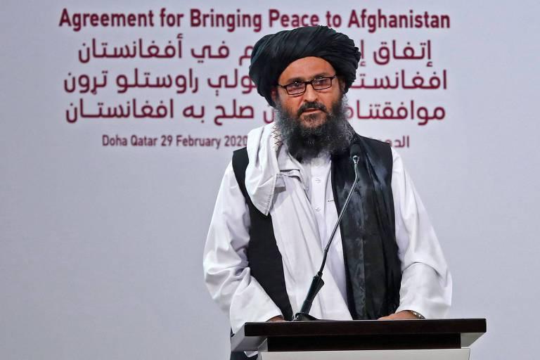 Número 2 do Taleban retorna ao Afeganistão; saiba quem é quem na liderança do grupo