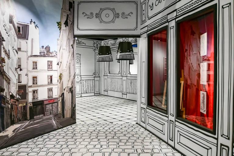 Confira imagens da exposição 'As Paisagens Impressionistas de Claude Monet  - Uma Experiência Sensorial' no Shopping Pátio Higienópolis